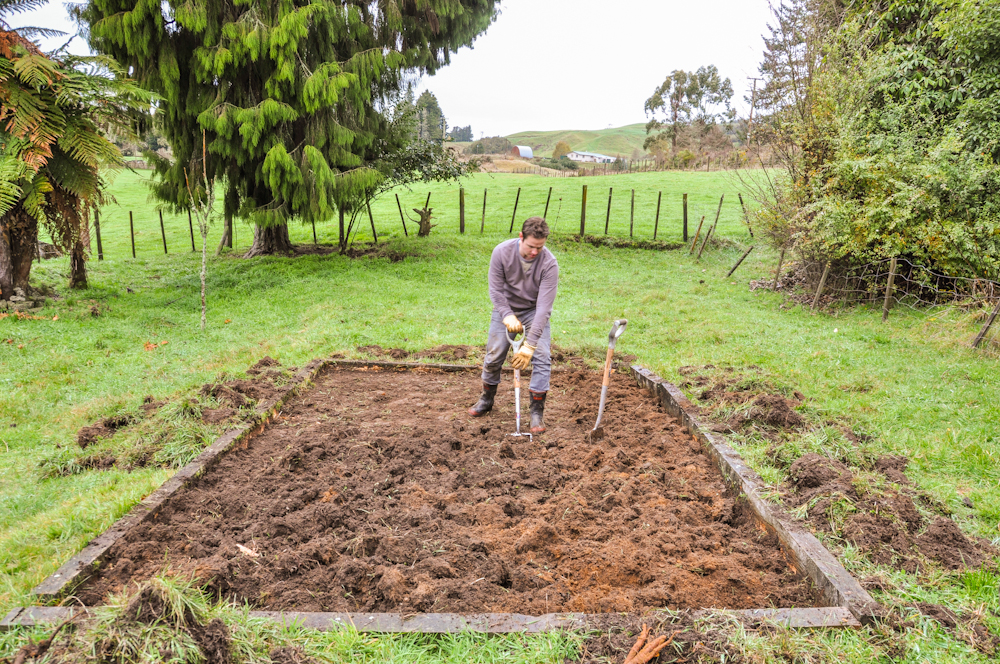 how to get good top soil for vege patch