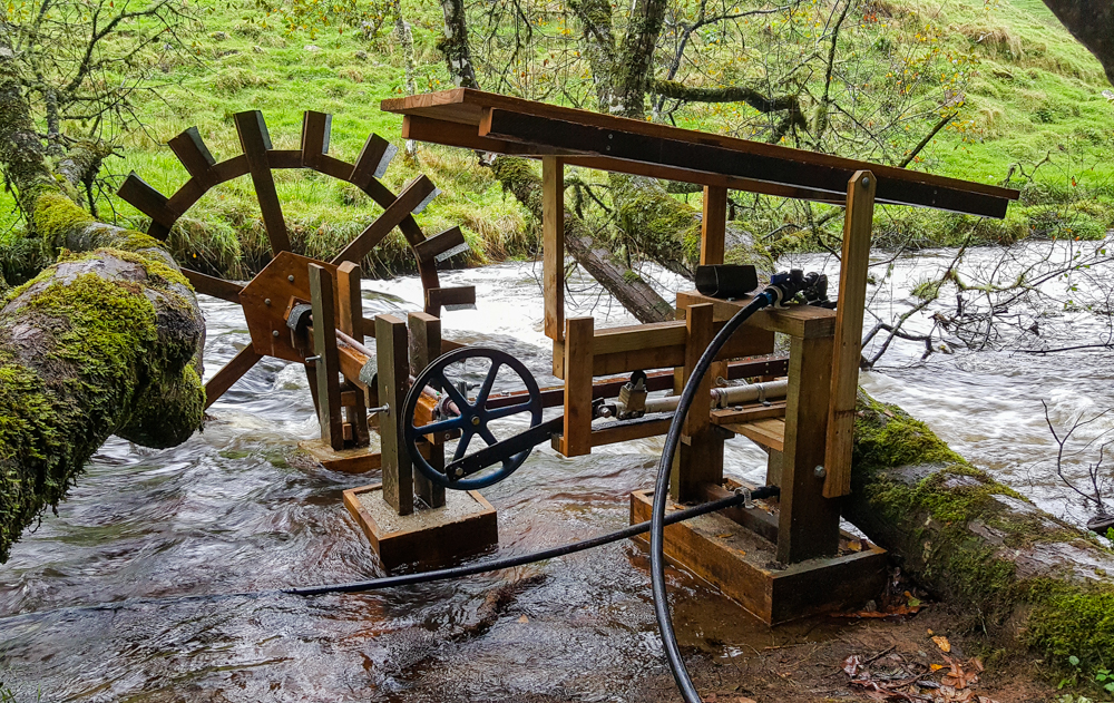 DIY Waterwheel & Pump | Back to the Land