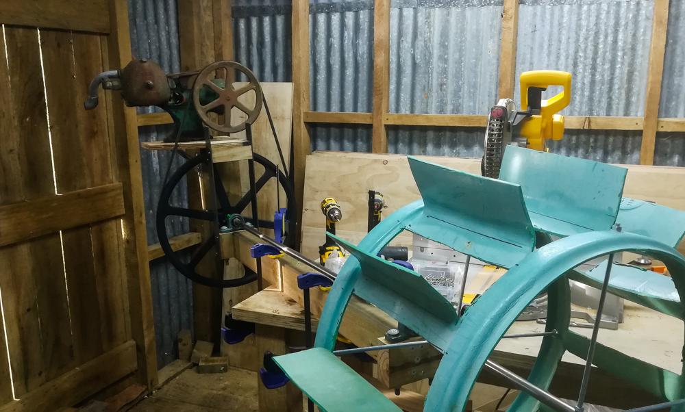 DIY Waterwheel & Pump | Back to the Land